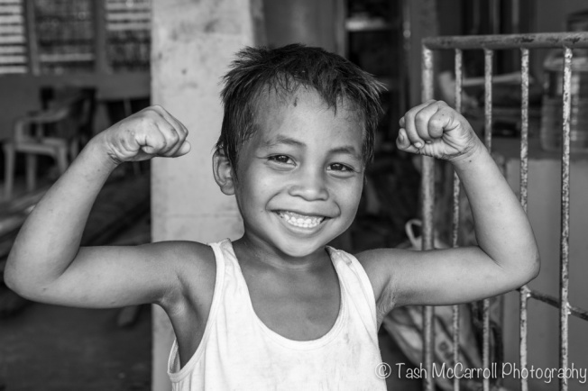 A whole lot of smiles & strength after surviving the super typhoon!