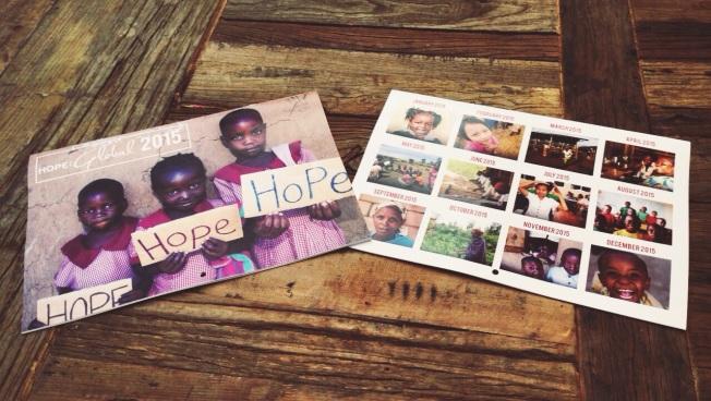 Hope Global Calendar 2015