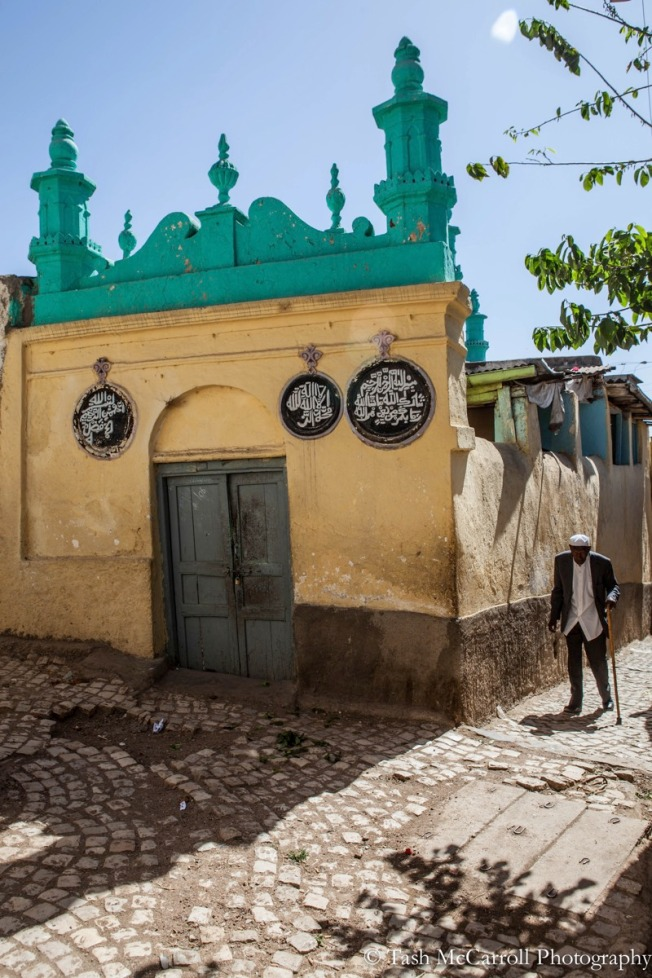 One of the many mosques hidden int he alleyways of the city